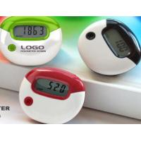 Buy cheap DC1.5V AG-13 Personalized egg belt clip Calorie Counter Pedometer with CE, ROHS from wholesalers