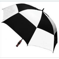 Buy cheap China Manual Double Leisure Patio Golf Umbrella (Windproof) from wholesalers