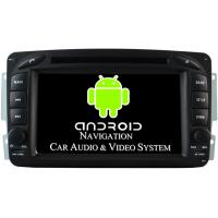 Buy cheap WiFi 3G Mercedes Benz CLK W209 Radio 1080P Auto Radio Navigation 2002 - 2004 from wholesalers