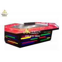 Buy cheap Bridge Shape Upper or Down Fume Exhaustion Teppanyaki Grill Table With 11 Seats from wholesalers