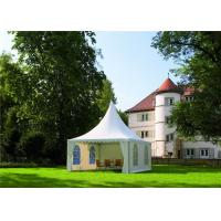 Buy cheap Light Weight Tenda Pagoda Party Tent Hot - Dip Galvanized Steel 5m X 5m from wholesalers