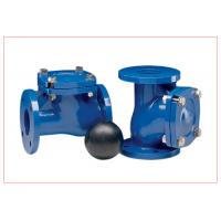 Buy cheap 12 Inch Vertical Ball Check Valve With Epoxy Powder Coating DN15 - DN300 from wholesalers