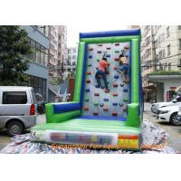 Buy cheap Customized Inflatable Sport Games , Rocky Mountain Deluxe Inflatable Climbing Wall from wholesalers