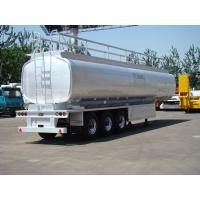 Buy cheap transport liquid like milk tanker semi trailers for sale with 3 axles from wholesalers