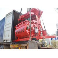 Buy cheap Enviroment Friendly Double Shaft Concrete Mixer Stationary 500L Discharging Capacity from wholesalers