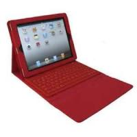Buy cheap Red 2.0 wireless Bluetooth Keyboard + Protective Case for ipad3 for lady from wholesalers