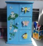 Buy cheap Superway Cabin children lovely jewelry box Fashion Children Wooden Jewelry Box from wholesalers