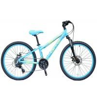 Buy cheap 24 Inch Lightweight Childrens Bikes 3 X 8 Speed Mechanic Dual Disc Brake from wholesalers