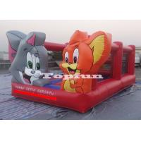 Buy cheap 20ft Amusement Parks Inflatable Jumping Castle Tom and Jerry Double Room from wholesalers