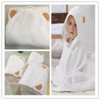Buy cheap China Wholesale cheap price  organic bamboo hooded baby towel hooded baby bath towel bamboo baby animal hooed towel from wholesalers