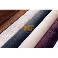 Buy cheap Anti - Statics Faux Leather Fabric For Upholstery / Car Interior Green Dyestuff from wholesalers