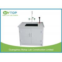 Buy cheap Small Laboratory Working Table PP Water Lab Bench with Cabinet Chemical Resistance from wholesalers