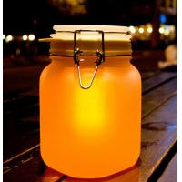 Buy cheap Solar Light in a Glass Jar with a LED Light in The Cover LED Sun Jar from wholesalers