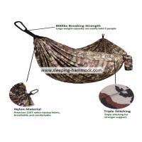 Portable Lightweight Double Camping Hammock , Camouflage Army Surplus Jungle Hammock Camo