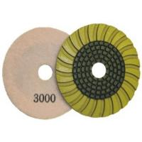 Buy cheap wet polishing pad for granite, marble , concrete, crystal, glass, gemstone, tile from wholesalers