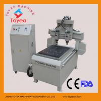 Buy cheap Small double heads 6090 Wood cnc router TYE-6090-2 from wholesalers
