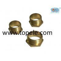 Buy cheap Brass Flex Metal Conduit Fittings Long / Short Male Threaded Hexagon Bush product