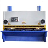 Buy cheap NC Hydraulic Metal Shearing Machine For Cutting Aluminum / Stainless Steel from wholesalers