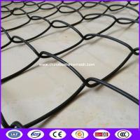 Buy cheap Black Color PVC Chain Link Fence 50mm*50mm made in cina from wholesalers