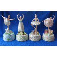 Buy cheap Polyresin Music Box With Ballerina Figurine (SR806027) from wholesalers