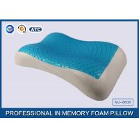 Buy cheap Therapeutic Memory Foam Cooling Gel Pillow with Soft Cover , Cooling Gel Bed Pillow from Wholesalers