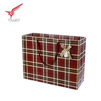 Buy cheap 2019 Free samples High quality paper bag cheap shopping bag decorative brown paper bags with handle package bag from wholesalers