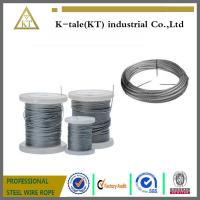 China Stainless Steel Wire rope  for sale in walmart plastic wheel on sale