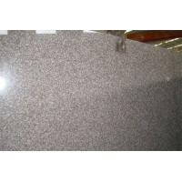 Buy cheap Customized G687 Peach Red Granite Window Sill with bullnose , ogee Edge from wholesalers