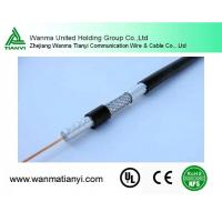 Buy cheap RG6 CCTV male cable coaxial cable from wholesalers