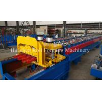 Buy cheap Metal Roof Glazed Tile Cold Roll Forming Machine With 5T Manual Decoiler from wholesalers
