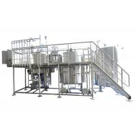 Buy cheap Industrial Brewing Equipment 25BBL Large Scale Brewing With Steam / Gas Heating from wholesalers