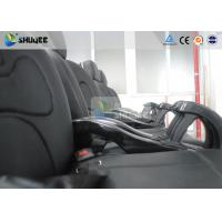 Buy cheap Fiber Glass 7D Movie Theater With Luxury Leather Dynamic Motion Chair from wholesalers