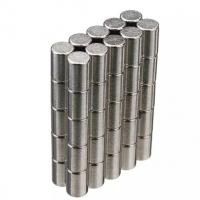 Buy cheap Neodymium Magnets Cylinder shape Permanent Neodymium Magnets By Strong Neodymium Iron Boron from wholesalers