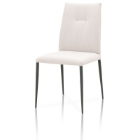 Buy cheap 17KGS Powder Metal Leg 930mm Modern Chair For Dining Room from wholesalers