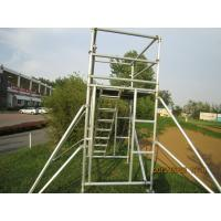 Buy cheap Cold Formed Jointing System Scaffold Platform / High Tensile Aluminum Scaffolding TUV GS from wholesalers