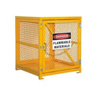 "Buy cheap Desk Top Half Height  Propane Tank Safety Cage , Gas Bottle Enclosure 31"" W X 30"" D X 35"" H from wholesalers"