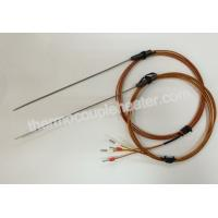 Buy cheap Type J Thermocouple Probe With Plastic Transition For Hot Runner Injection Mold from wholesalers