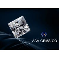 VVS1 Super White Moissanite For Princess Square Cutting Shape 6.5mm