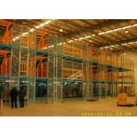 Buy cheap 200 Kg Per Sqm Multi Tier Racking System Mezzanine Storage Platform For Furniture Company from wholesalers