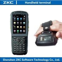 Buy cheap 2016 hot 3G Rugged handheld pda with wifi bluetooth NFC , android pda barcode laser scanner from wholesalers
