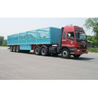Buy cheap 13m-3 Axles-45T-Rail Side Flat Bed container semi trailer from wholesalers