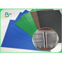 Buy cheap Blue / Green / Red / Black Lacquered Solid Paperboard 1.5mm 72 * 102cm from wholesalers