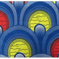 Buy cheap 100% cotton imitation wax printed fabric for african fashion 40*40/96*96 from wholesalers