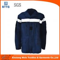 Buy cheap Navy Blue Fire Retardant Shirts Fr Light Weight Flame Resistant Welding Shirts from wholesalers
