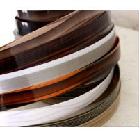 Buy cheap Plastic Veneer Table Cabinet Seals Edge Banding Tape from wholesalers