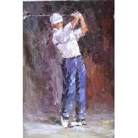 Buy cheap Gulf knife oil painting from wholesalers