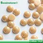 Multi Color Size pearl rhinestone stone,stone pearl rhinestone,hot fix ...