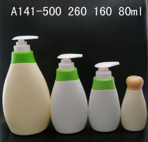 Buy cheap Offer children shampoo bottle, Plastic shampoo PE bottle, PE Children Shower gel bottles product