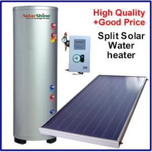 China Intelligent Split Solar Water Heater , Flat Panel Solar Water Heater SP-150-500L on sale