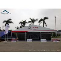 Buy cheap Durable Aluminum 20 By 30 Exhibition Tents  For Car Show  Flame Retardant from wholesalers